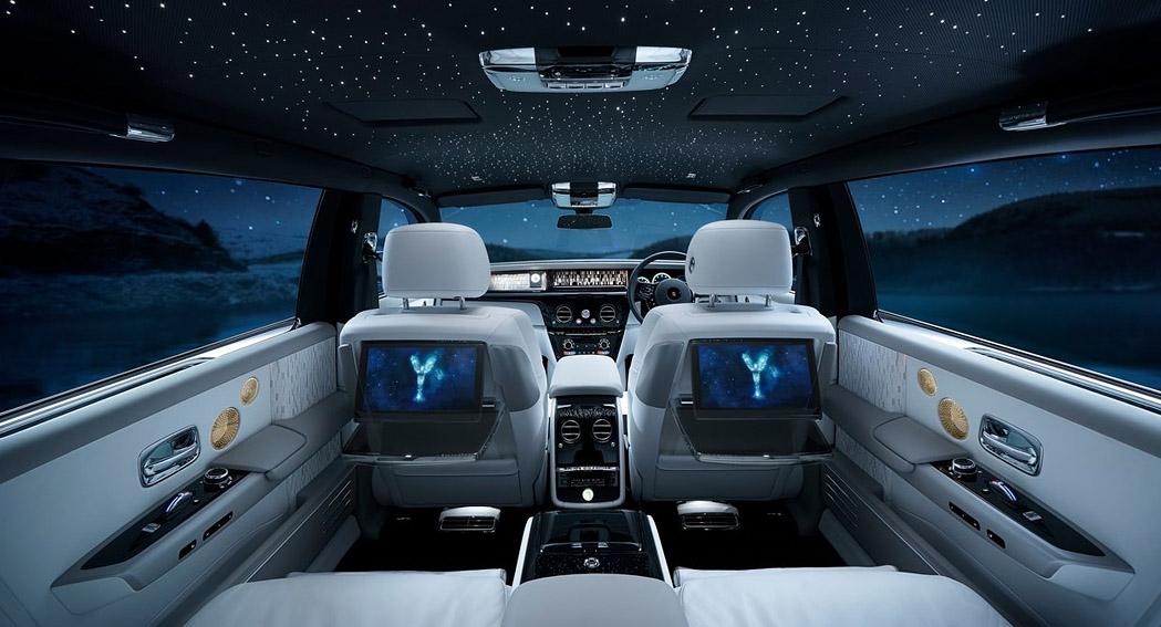 Luxury Technology - Rolls ROyce - Phantom - Back Seat - Dailycarblog.com