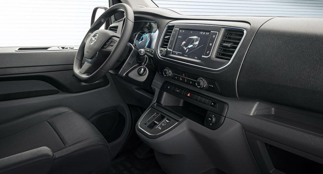 Vauxhall Vivaro-e - Interior - Dailycarblog.com