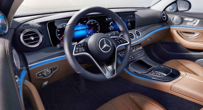 2020 Mercedes E Class updates, interior, dailycarblog