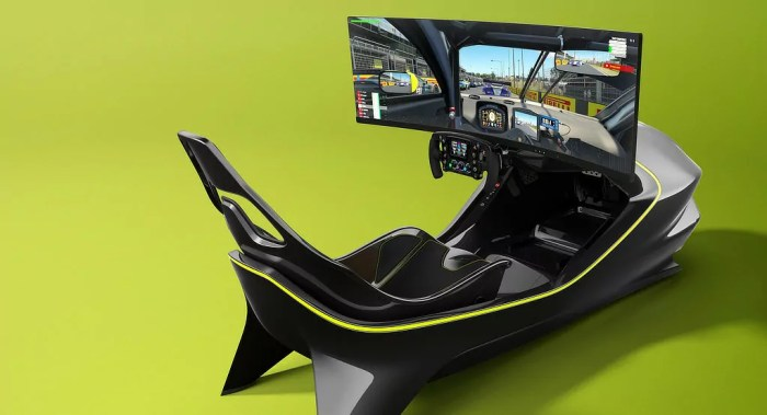 Aston Martin AMR-Co1 gaming chair dialycarblog