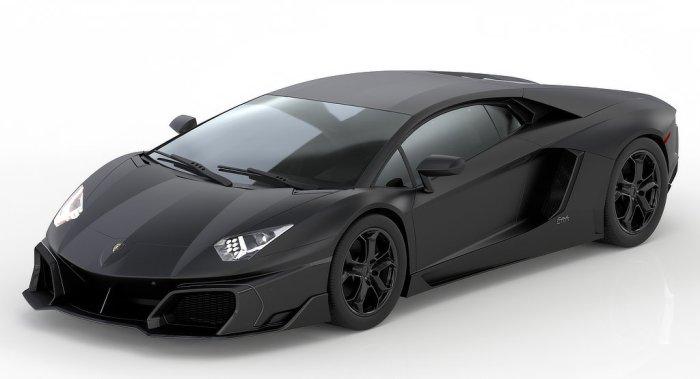 Huber Lamborghini Aventador - Dailycarblog