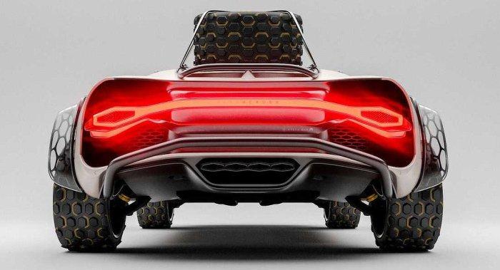 Bugatti Chiron Off Roader - Rear - Dailycarblog.com