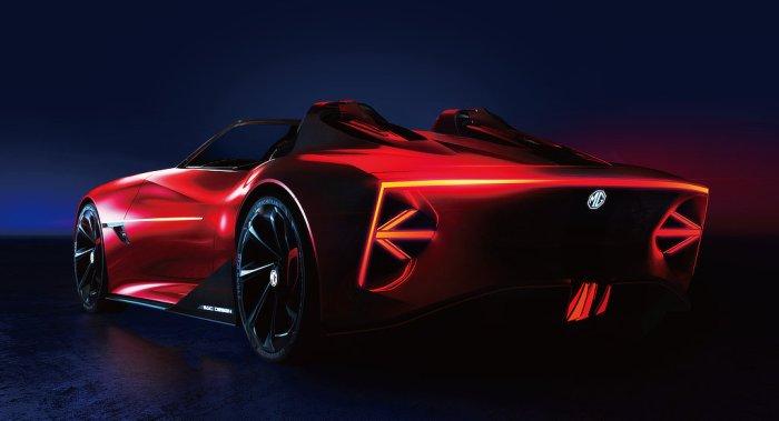 MG Cyberster EV Concept - Rear - dailycarblog