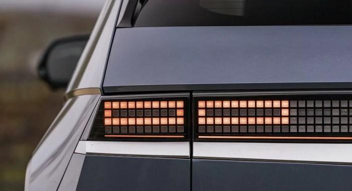 Hyundai Ioniq 5 - UK Price Revelation - LED Details - Daily Car Blog