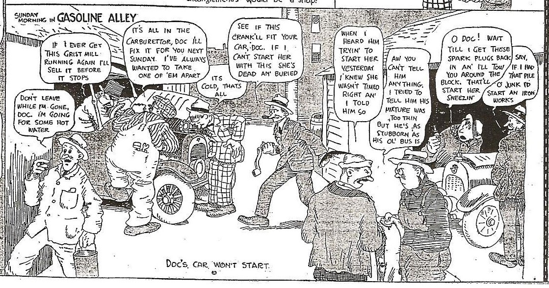 Jim's assessment, like many, including respected comics historian R. C.  Harvey, is that Walt is the third individual from the right.