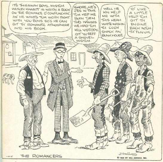 Cowboy Cartoonists and Contemporary Cowboys The Daily Cartoonist