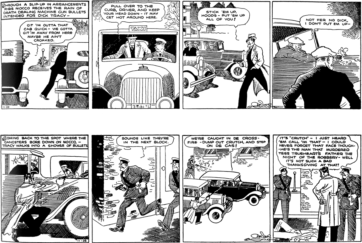 The New Dick Tracy Goes Retro The Daily Cartoonist