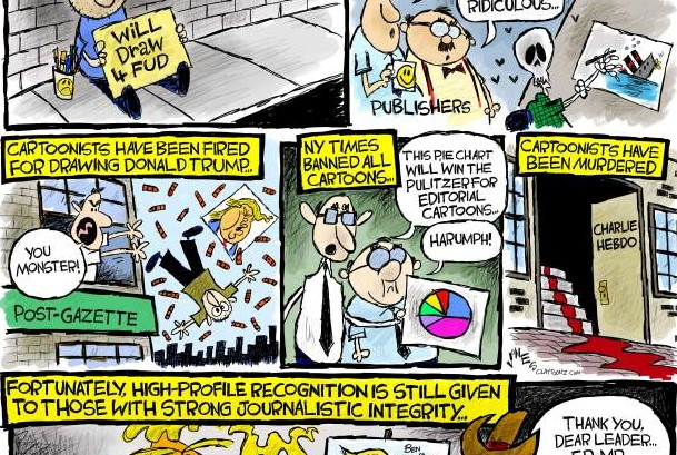 Perilous Times for Political Cartoonists The Daily Cartoonist