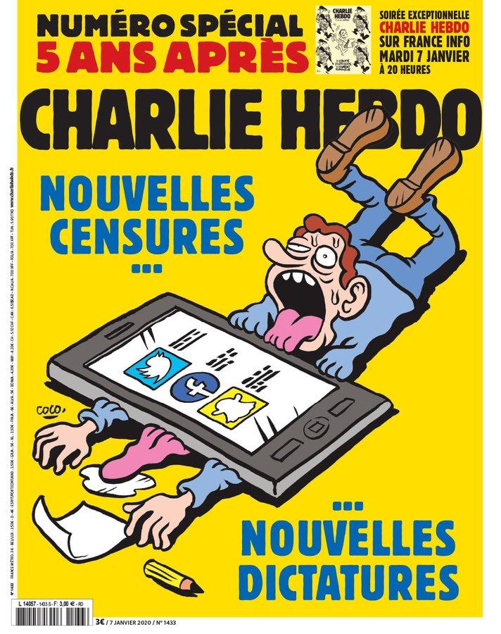 Je Suis Charlie Cinq Ans Apres The Daily Cartoonist