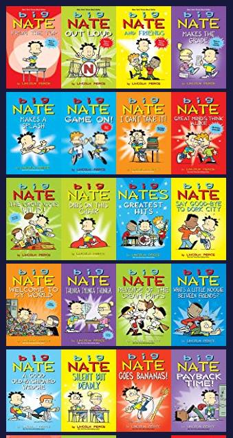Big Nate Series : series, Animated, Daily, Cartoonist
