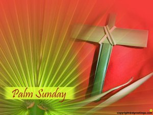 Celebrating Palm Sunday