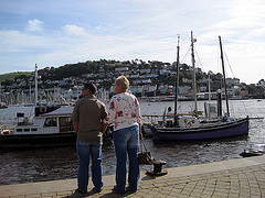 Married Couple, Dartmouth Quayside