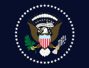 Seal of the President of the United States of America (Photo credit: Wikipedia)