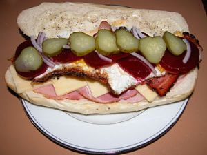 Big Tasty Sandwich (Photo credit: Wikipedia)