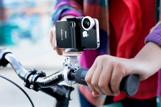 Bikepod - iPhone Mount for Bicycles