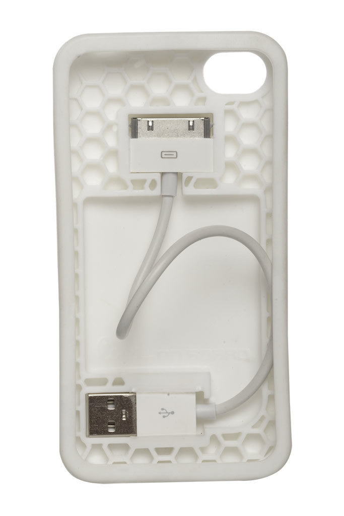 Cord On Board White Ultra Lightweight iPhone 4S Case 03