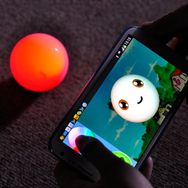 Bollo – Android App Controlled Robotic RC LED Ball