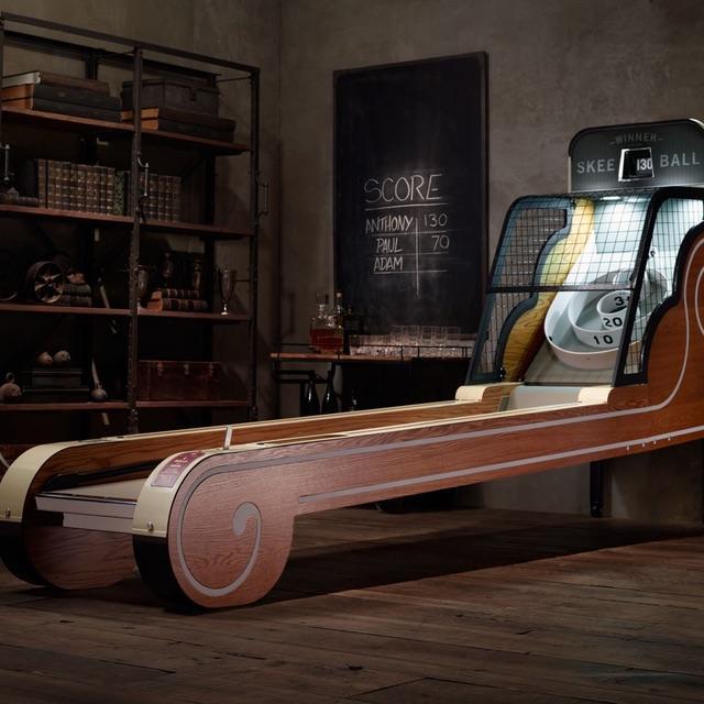 Vintage Arcade Skeeball Game