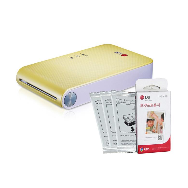 LG PoPo Pocket Photo Printer