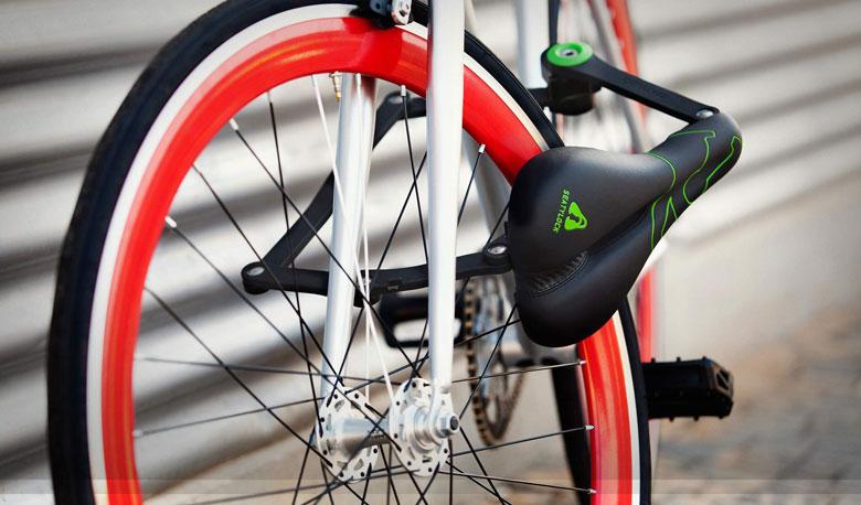 Seatylock Trekking Seat & Bike Lock