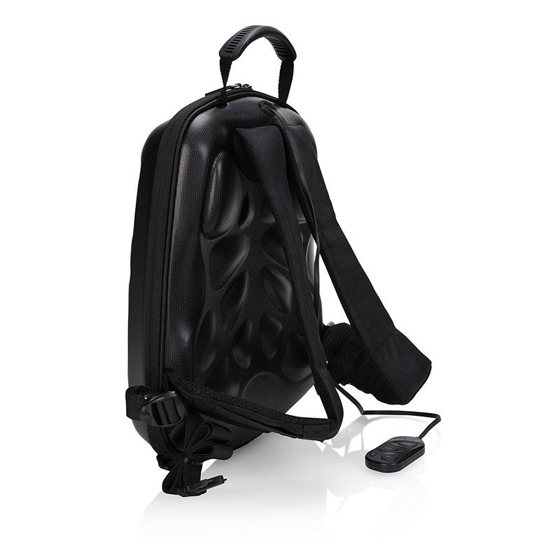 Bluetooth Speaker Backpack Side