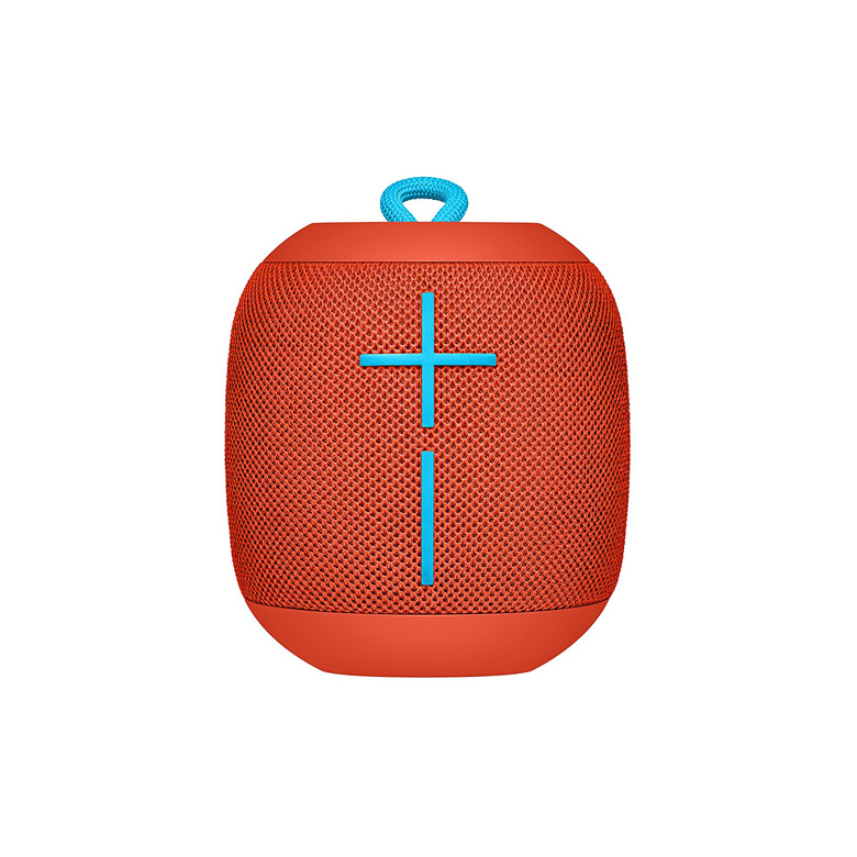 Ultimate Ears Wonderboom Fireball Red Super Portable Waterproof and Shockproof Bluetooth Speaker