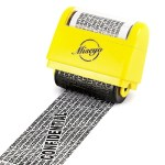 Wide Roller Identity Theft Stamp