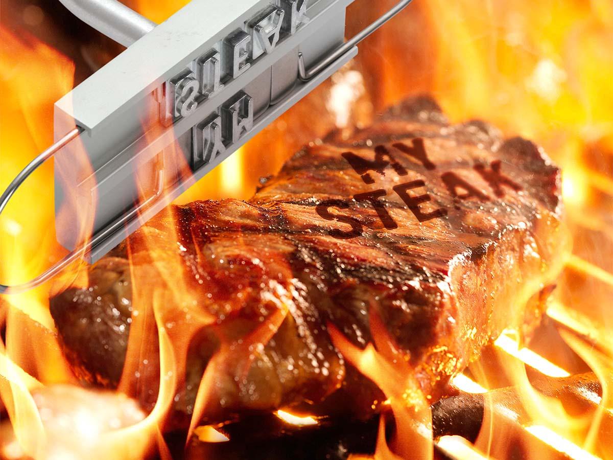 BBQ Meat Branding Iron