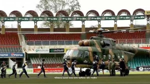 পাকিস্তানে ক্রিকেট ম্যাচে এলোপাতাড়ি গুলি