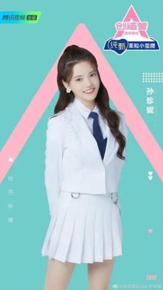 sunzhenni-169x300 Chuang 2020 Trainee Sun Zhenni Writes A Long Post Thanking Fans Following Her Elimination