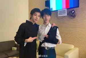 El-5sYrWMAA8TQG-1 Hua Chenyu and TNT's He Junlin Take Selfie for Ace vs Ace 5