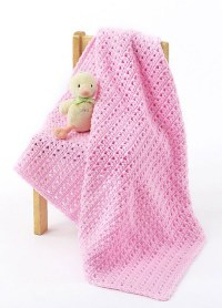 [Free Pattern] Fabulously Simple One Skein Baby Blanket ...