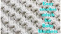 [Video Tutorial] Beautiful Crystal Waves Crochet Stitch ...