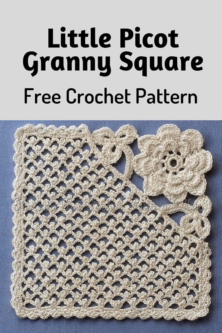crochet granny square diagram what is a circuit little picot really unique and amazing pattern