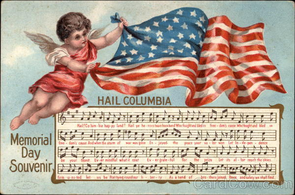 Memorial Day Souvenir Hail Columbia