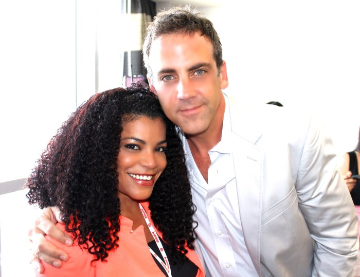 me and famous Latin actor and singer carlos Ponce