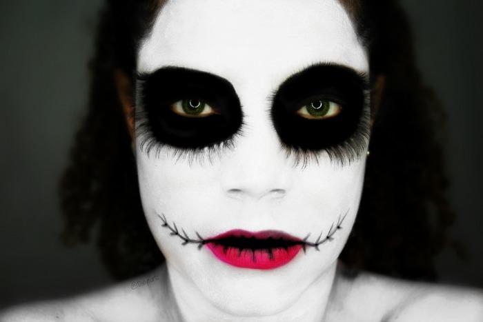 maquillaje sencillo para halloween