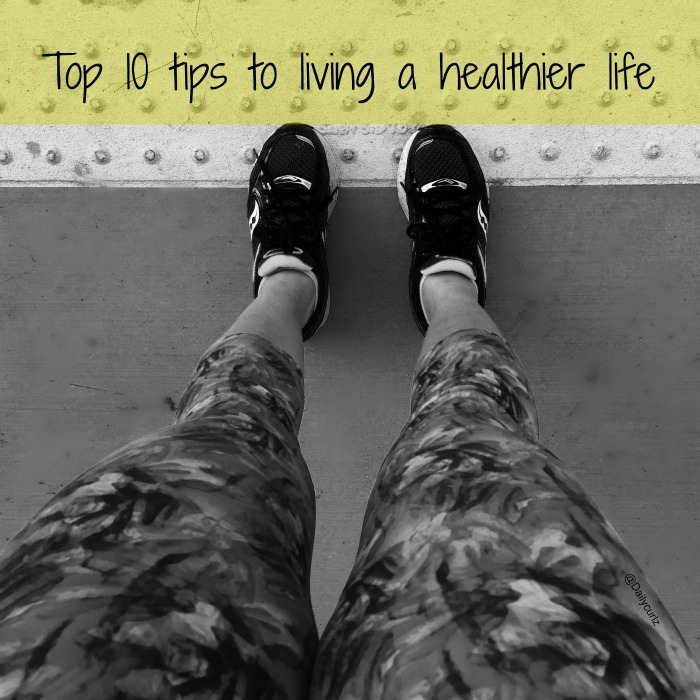 tips to living a healthier life