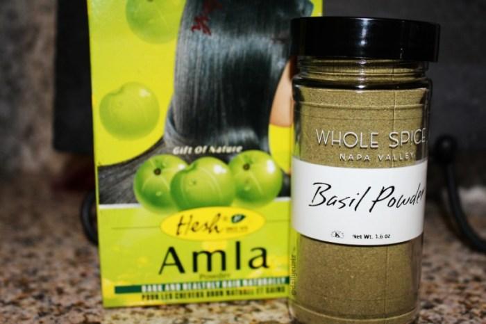 amla powder for natural hair