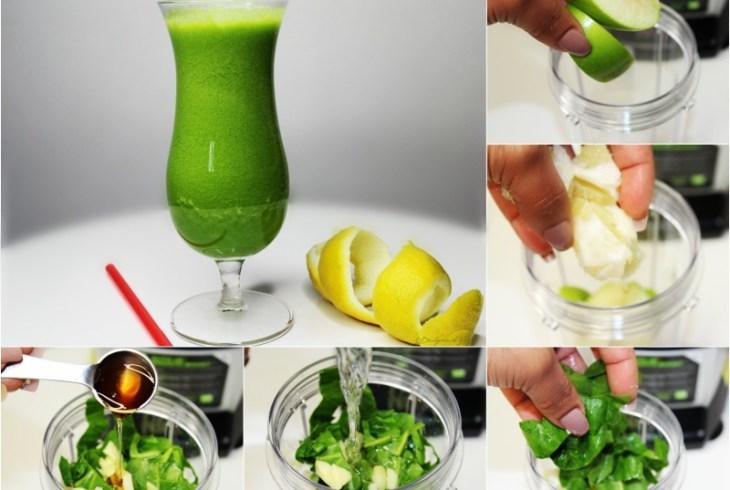 Detox Drink: Sweet Spinach | Detox de Espinaca