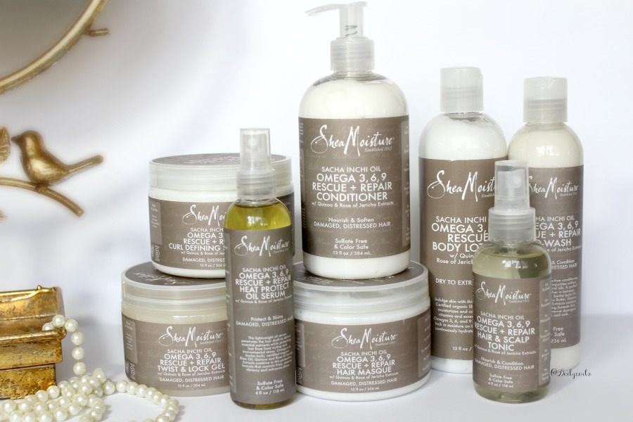New Sheamoisture Sasha Inchi Oil And Omega 369 Product Line