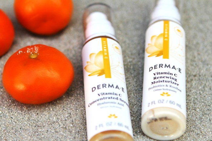 Vitamin C to brighten your face this summer