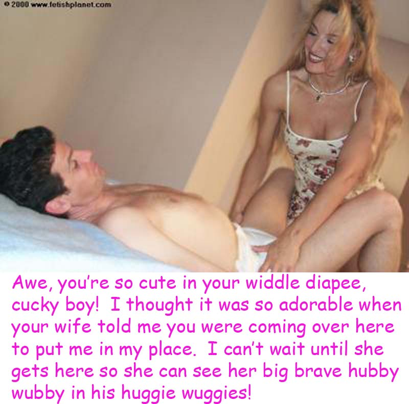 Diapered Sissy Husband