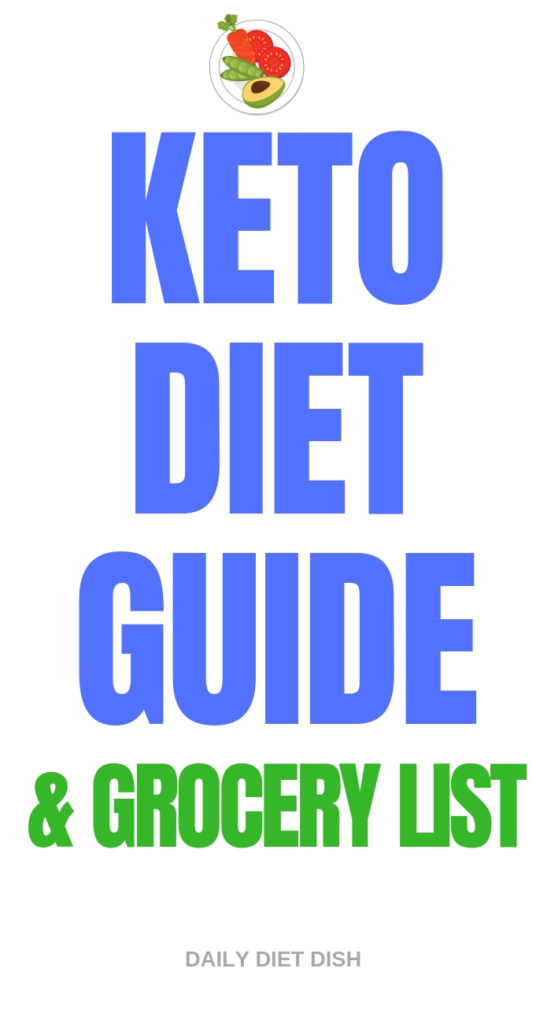 keto diet guide and grocery list for beginners free pdf