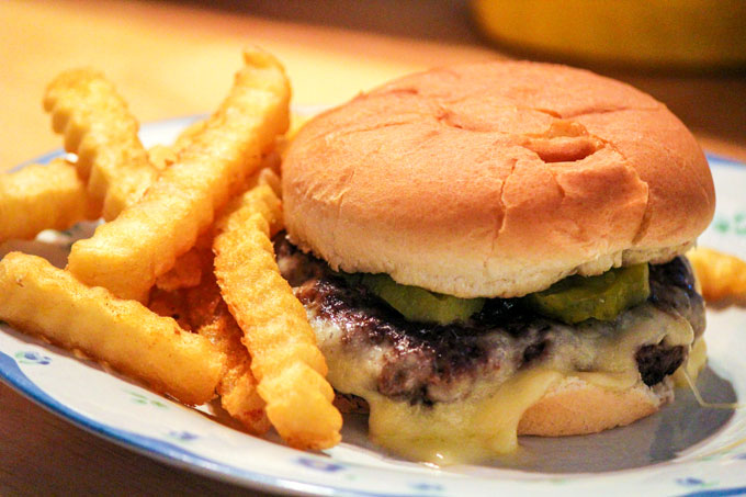 Bacon Swiss Cheeseburger Recipe with Skillet Bacon Jam