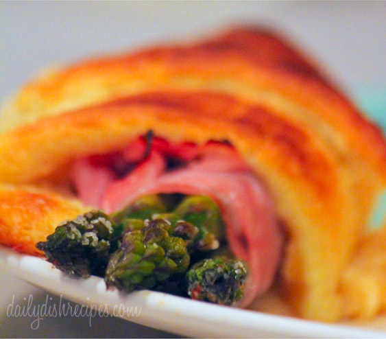 Ham and Asparagus Roll Ups Recipe