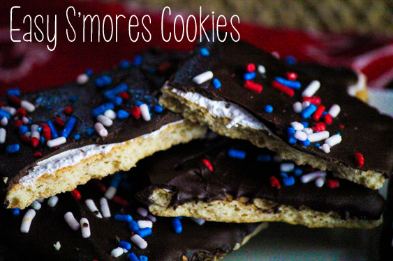 Easy S'mores Cookies 2