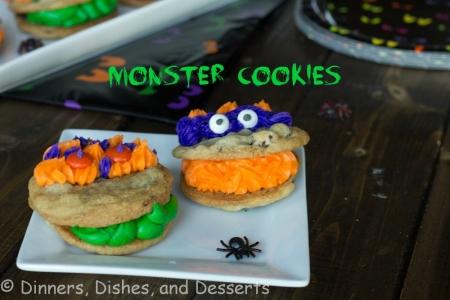 Halloween Recipes: Monster Cookies