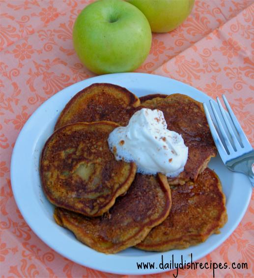 Apple Pumpkin Pancakes