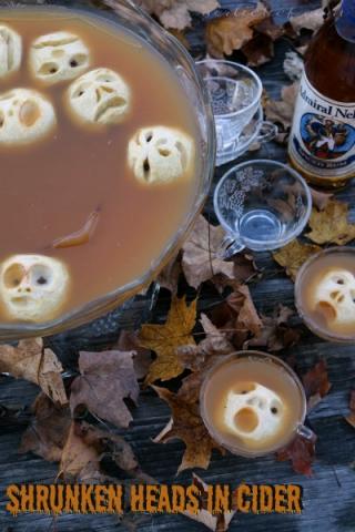 Shrunken Heads in Cider